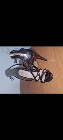 Женские туфли, коричневые,36 размер,
