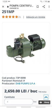 Pompa DAB 251 M 2 turbine de mare adancime