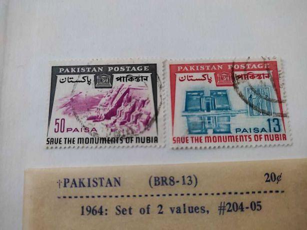 Timbre Pakistan 1964