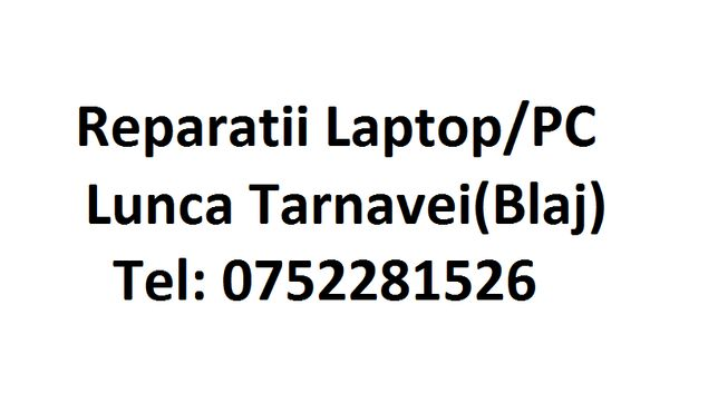 Reparatii Laptop Calculator PC Instalare Windows Lunca Tarnavei Alba