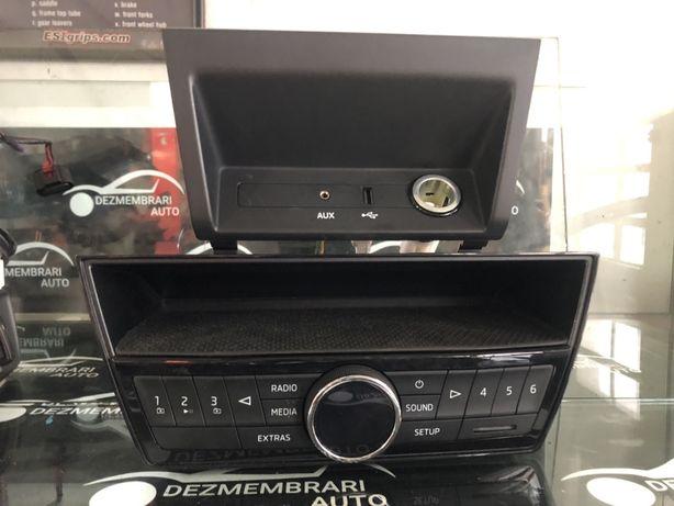Radio MP3 aux memory card USB Skoda Fabia 3 NJ 2015-prezent
