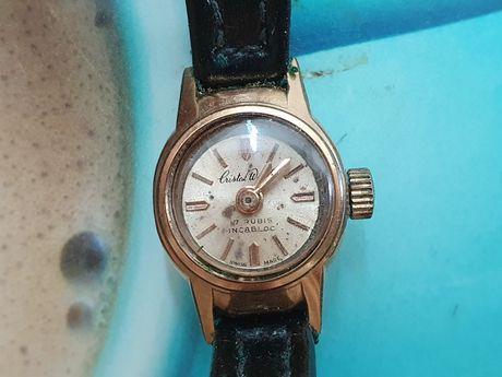 Ретро швейцарски часовник Cristal watch 17 rubes