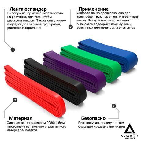 Силовая лента эспандер 7,5 -17 кг
