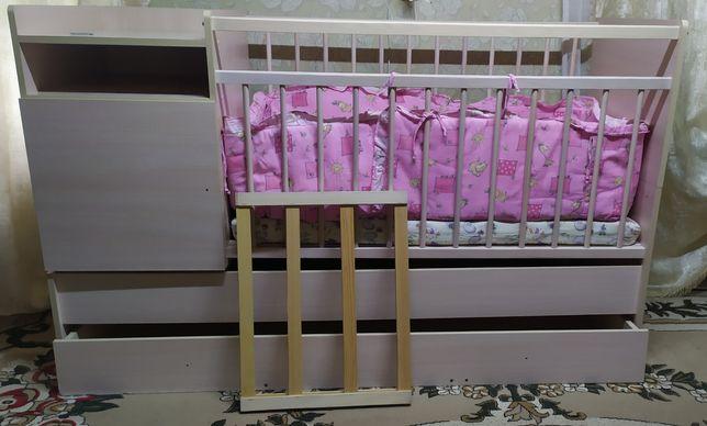 Кровать трансформир