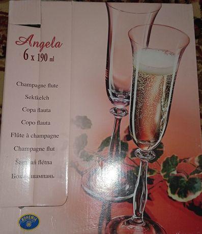 Посуда Angela 6x 190ml, 6x 60ml