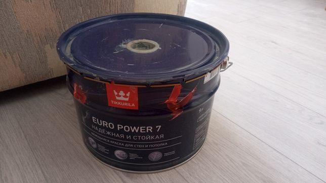 Краска тикурилла  8,5 литров заколерованная темно-серый цвет 15000 т.