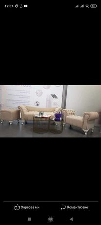 Мека мебел по поръчка,диван, табуретка,Честърфийлд