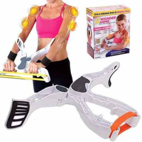 Фитнес уред за ръце, рамене, гърди и гръб - тренажор за женско тял