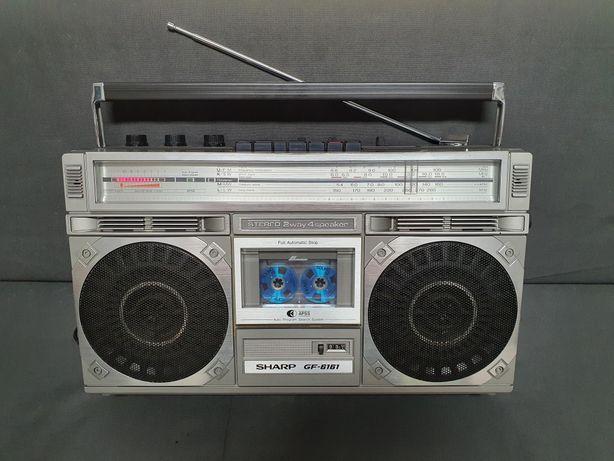 Boombox radio casetofon Sharp gf 6161h