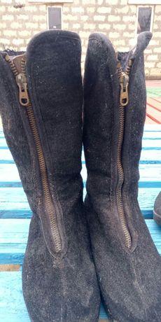 Ботинки зимние теплые