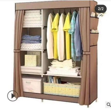 Тканевый гардеробный шкаф