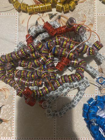 Inele porumbei ornament