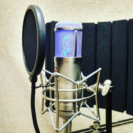 Студия звукозаписи OKTAVA. Запись песни