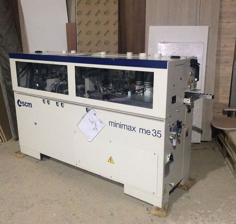 Кромкооблицовочный станок minimax me35