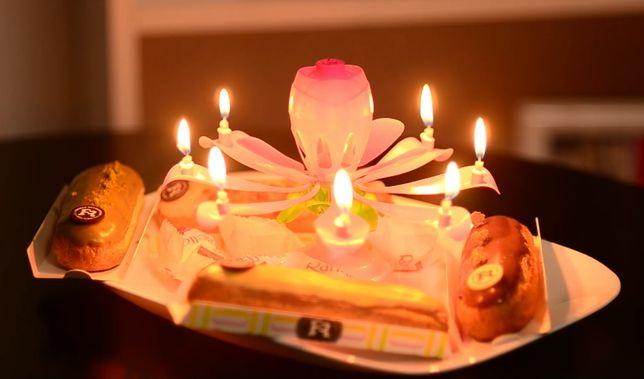 happy birthday candle - lumanare muzicala tort