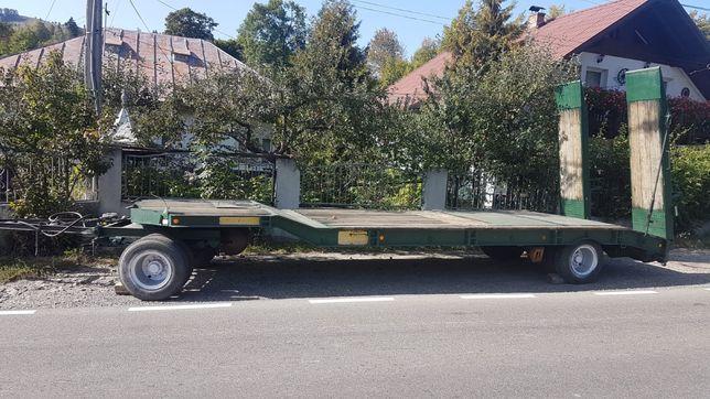 Trailer , remorca transport Müller Mitteltal