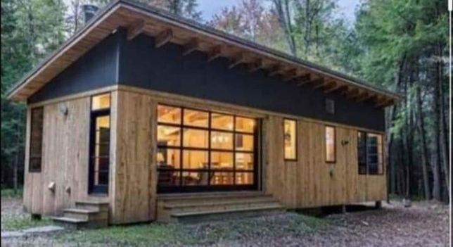 Vand cabane din lemn, si căsuțe