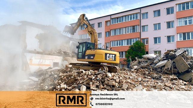 Inchiriez utilaje Bistrita, excavator, buldoexcavator, miniexcavator