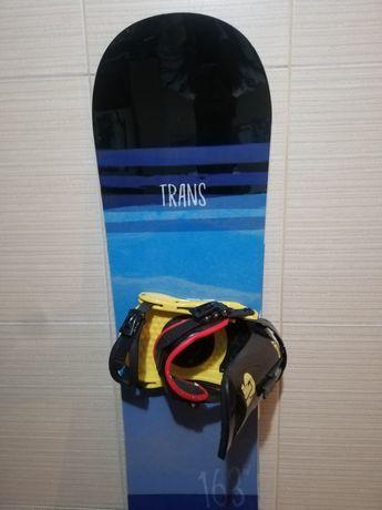 Placa snowboard Trans 163cm/legaturi Burton /boots