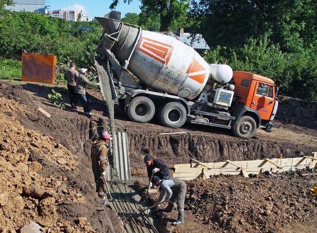 Доставка бетон всех марок Алматы и область раствор Миксер Береке
