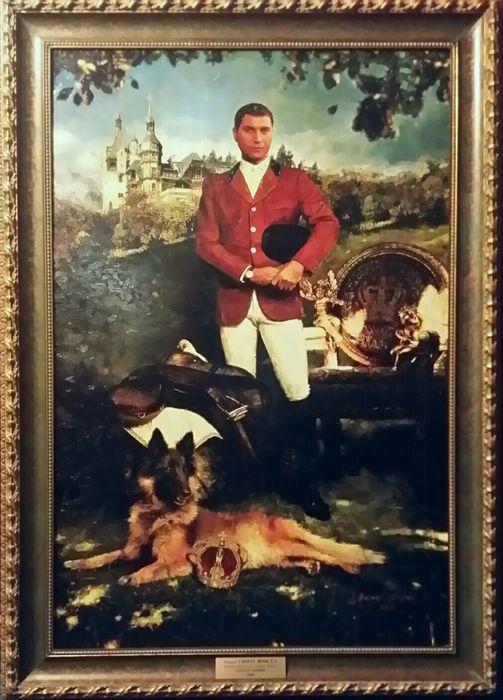 Tablou Portret CRISTI BORCEA Pictura 80 x 120 cm Bucuresti - imagine 1