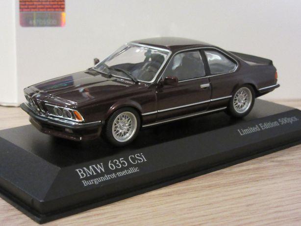 Macheta BMW 635 CSI Minichamps 1:43