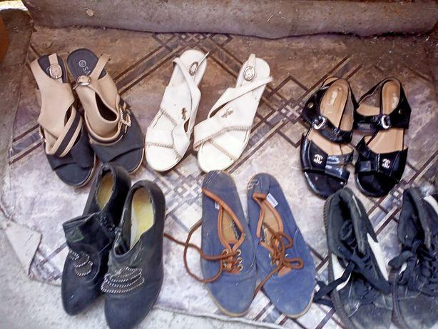 Обувь женская летняя