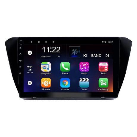 Navigatie Android 10.0 SKODA SUPERB III (3V3) 2015+ GPS WAZE 9 inchi