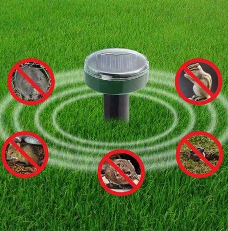 Соларен уред против гризачи, змии, къртици, мишки