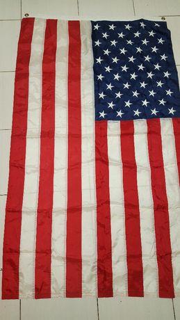 Vand steag America original, stele brodate.