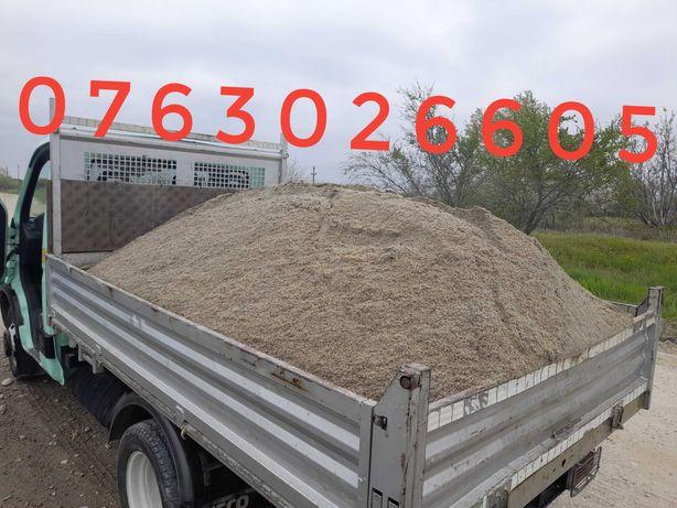 Transport nisip, balast