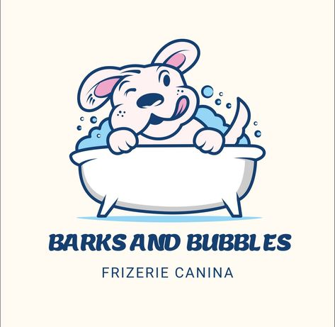 Frizerie Canina.  Barks and Bubbles
