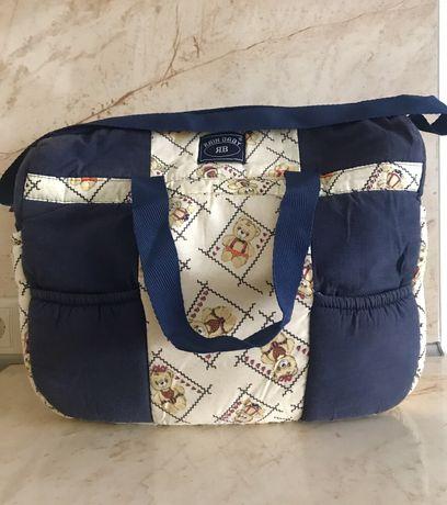 Чанта за бебешки принадлежности + ПОДАРЪК