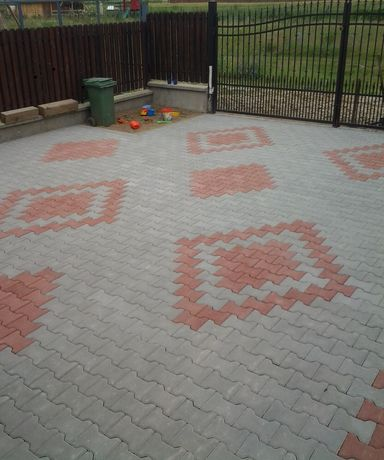 Pavaj beton profil I sau Dublu T