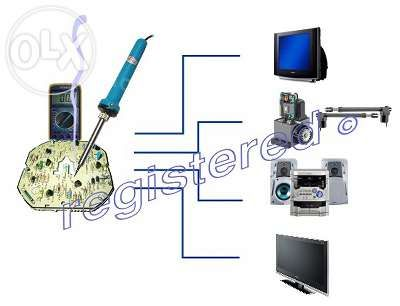 Service reparatii TV audio & electronice
