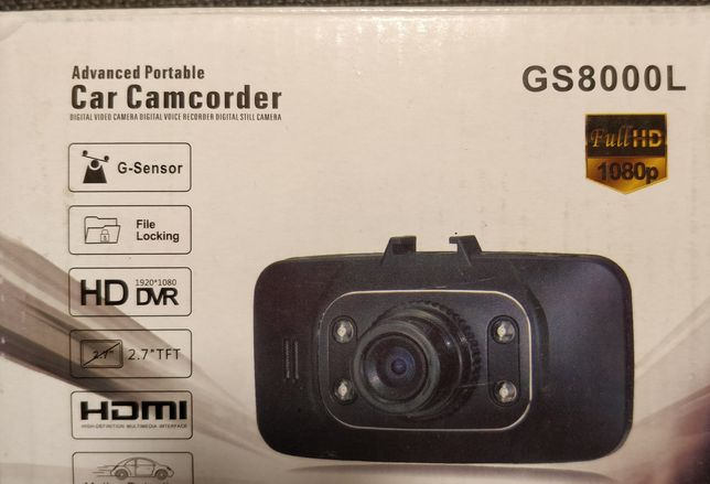 Car Camcorder GS8000L FullHD (card 16gb inclus)