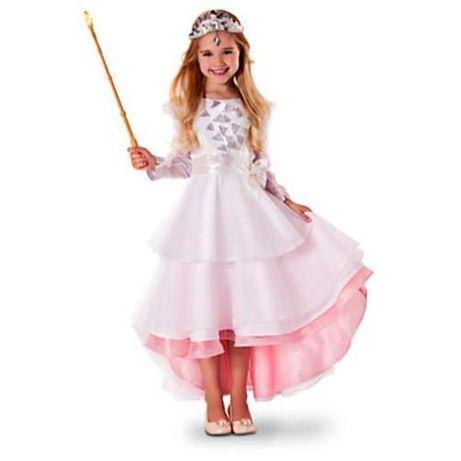 Глинда Вълшебникът от ОЗ deluxe рокля Disney store 5-6г