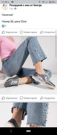 !НОВИ! Дамски обувки 37-37.5н