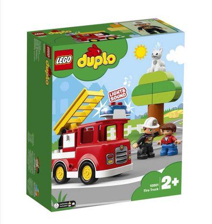 LEGO DUPLO - Camion de pompieri 10901, 21 piese, nou, sigilat