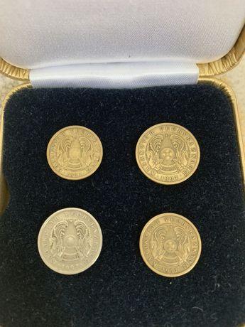 Монета номиналом 1,5,10,20,50 тенге 1997 года