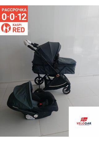 Продажа детская коляска 3 в 1, CANMEJA Коляска с автолюлькой