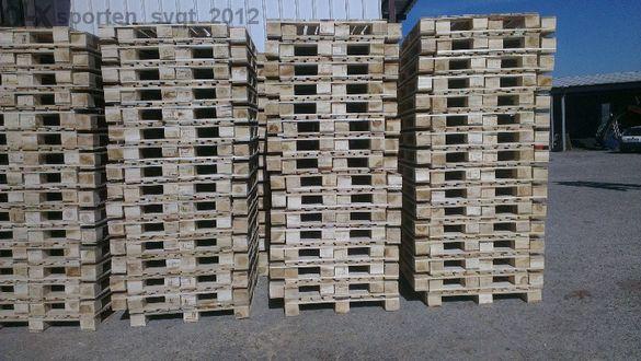 Производство на дървени палети, палети за мебели , евро палети и ска