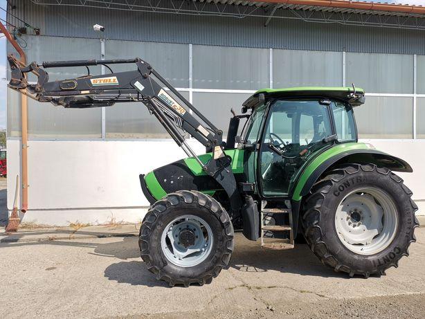 Tractor Deutz Agrotron K100 cu încărcător profesional Stoll