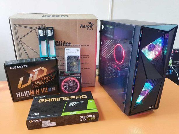 Игровой компьютер 10100f/16 RAM/1650 4gb/ 120 SSD