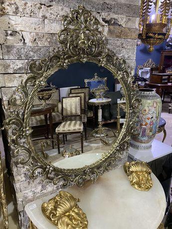 Rama oglinda bronz masiv