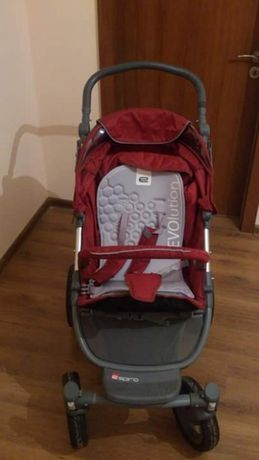 Бебешка комбинирана количка - Espiro 2 в 1 Enzo Evo