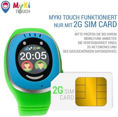 MyKi GPS часовник за деца, интелигентен часовник с GPS тракер, местопо