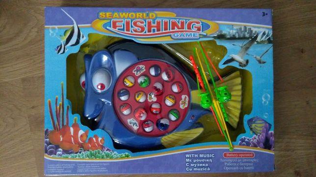 "Joc muzical ""Seaworld fishing game"", 3ani +, UTILIZAT"