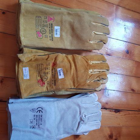 Ръкавици за заварчик от телешка кожа