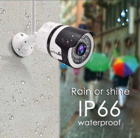 Водоустойчива Wifi Камера за външно наблюдение Безжична, Android iOS